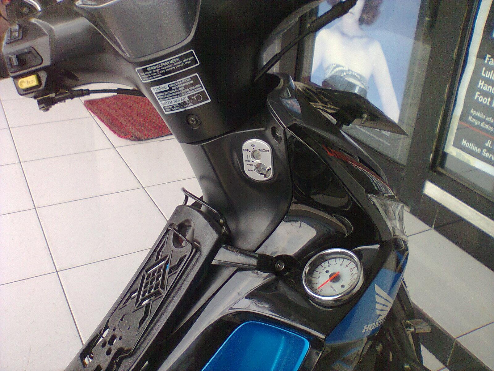 Honda Supra X 125 Modifikasi RPM Keshamotor
